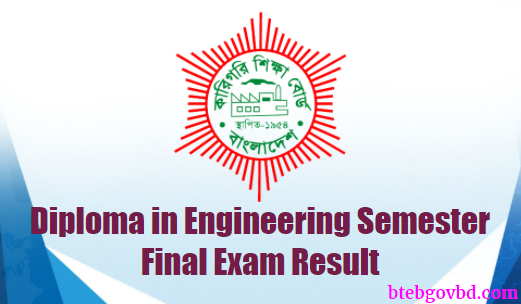 BTEB Diploma Semester Final Exam Result