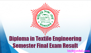 diploma in textile result
