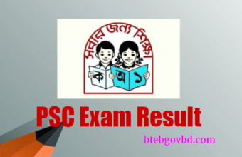 PSC Result 2018 Primary School Result dpe.gov.bd