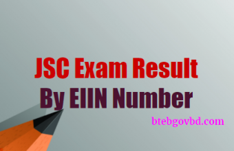 Institute wise JSC Result 2018 by EIIN- www.eboardresults.com