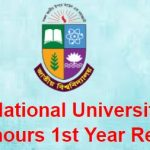 nu 1st honours year result