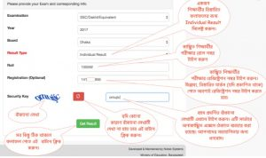web baseed result system