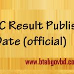 ssc result publish date