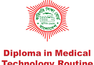 Diploma in Medical Technology Routine 2018