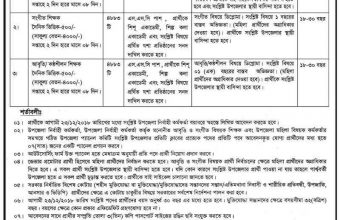 Department of Women Affairs Job circular